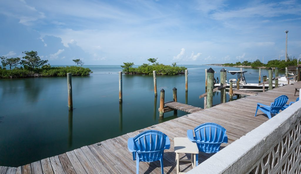 Dock view at Bayview