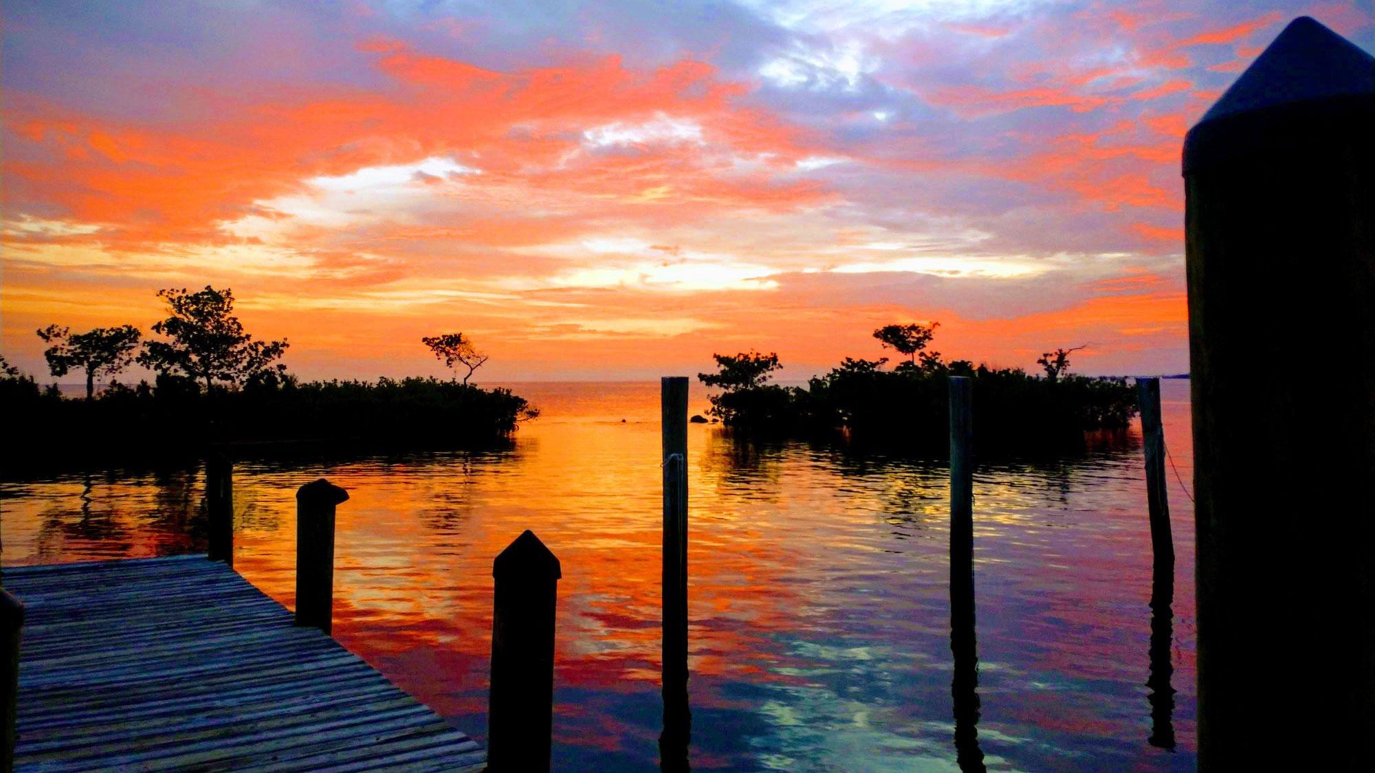 5-sunset pillars